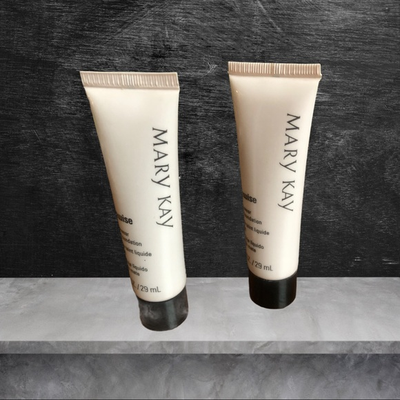 NEW- Mary Kay Time-wise Foundation Lot(2)Beige4&5